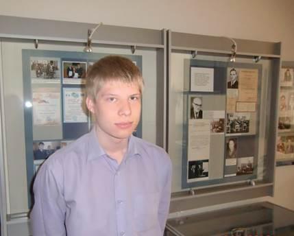 Г.Б. Кулибин в музее колледжа